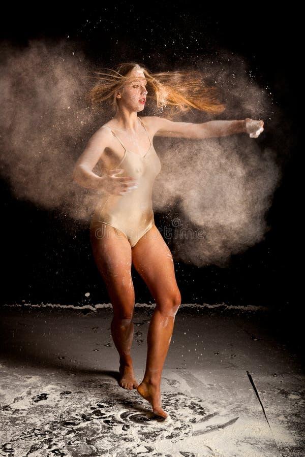 Contemporay baleriny proszek obrazy stock
