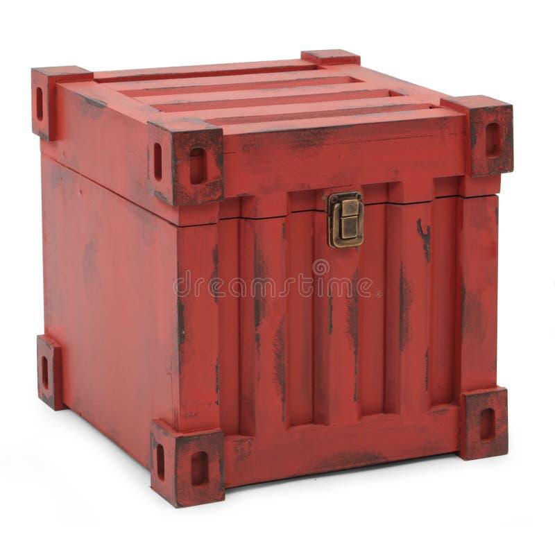Contenedores rojos imagen de archivo