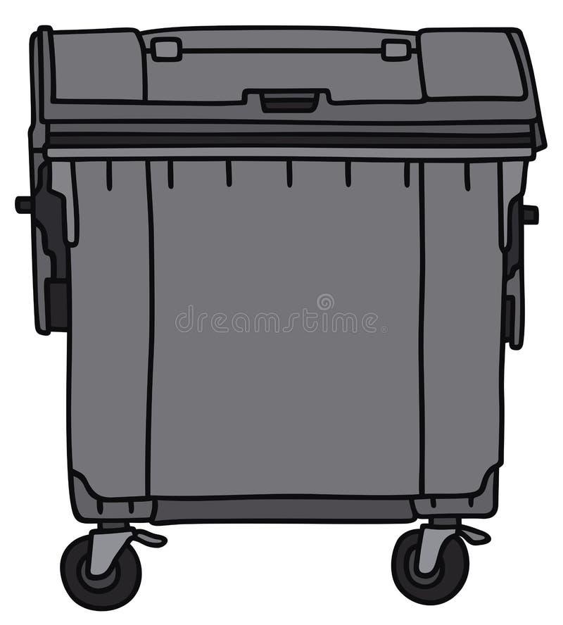 conteneur illustration de vecteur