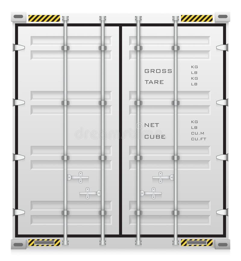 conteneur illustration stock