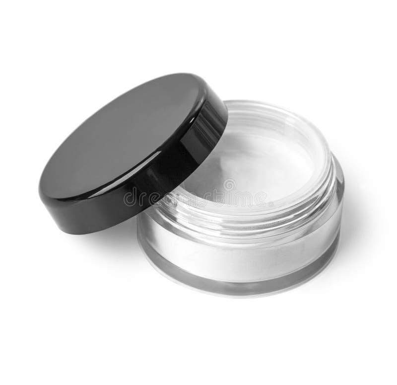 Conteneur cosmétique blanc photo stock