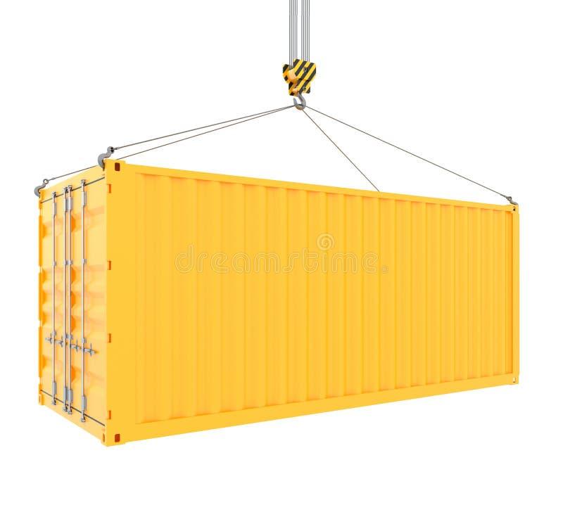 Conteneur de cargaison illustration de vecteur