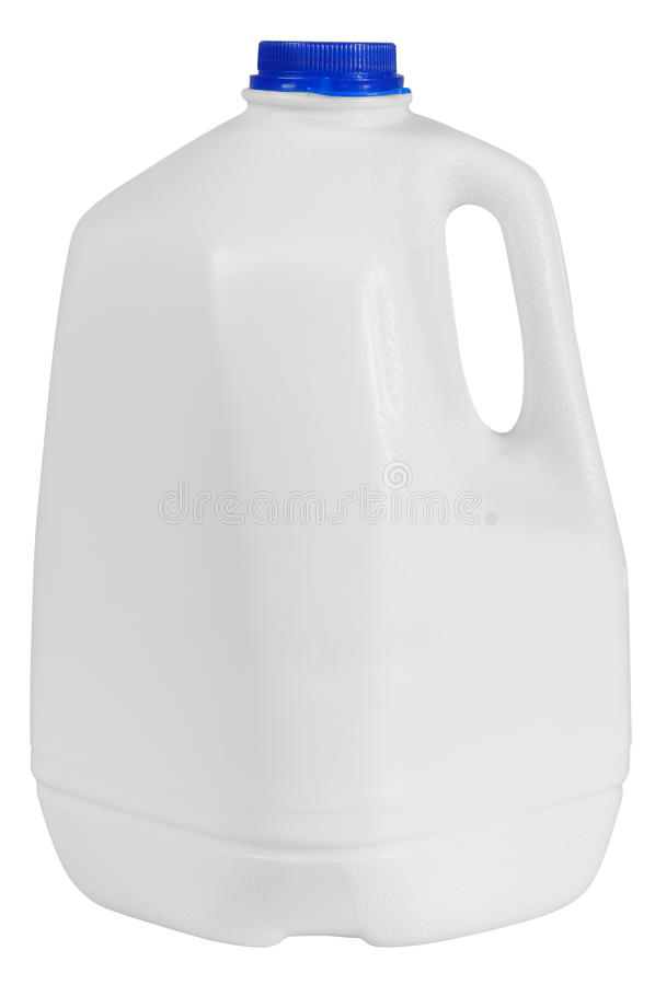 Conteneur de lait. D'isolement photo libre de droits