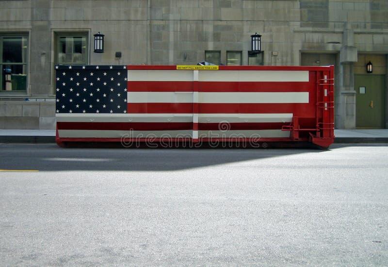 Conteneur des USA photographie stock libre de droits