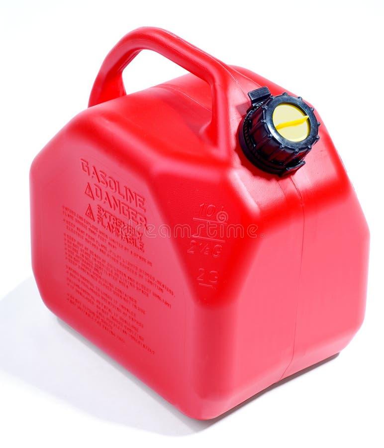 Conteneur rouge de gaz images libres de droits