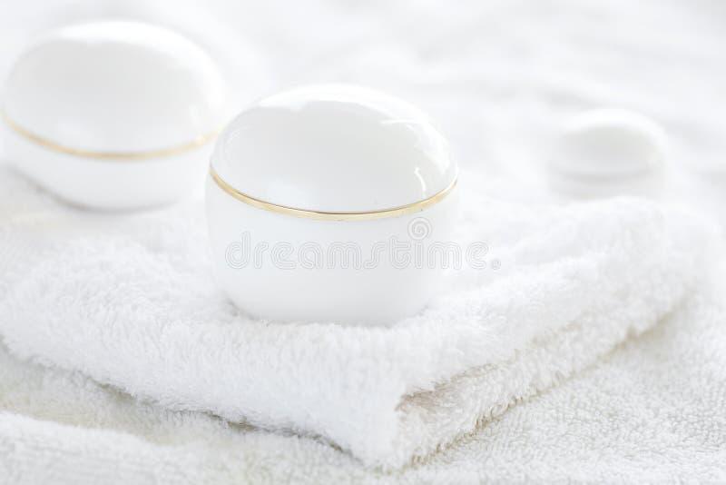 Conteneurs cosmétiques images libres de droits
