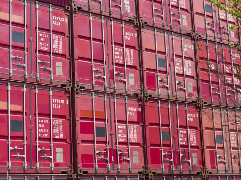 Conteneurs de cargaison photographie stock