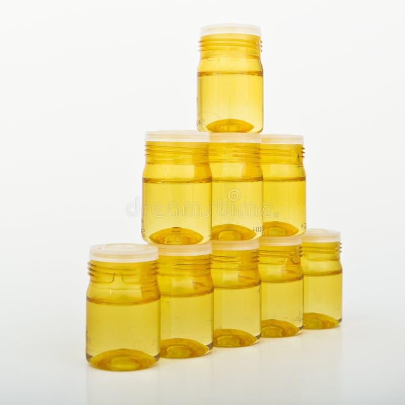 Conteneurs en verre cosmétiques photographie stock