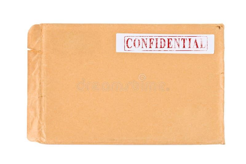 Contenido confidencial fotografía de archivo