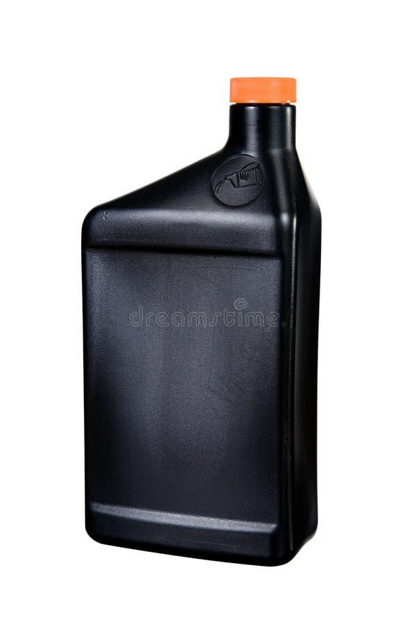 Contenitore dell'olio isolato fotografia stock libera da diritti