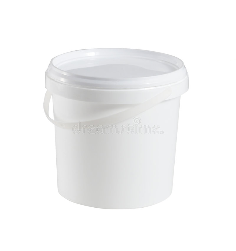 Contenitore di alimento di plastica fotografie stock