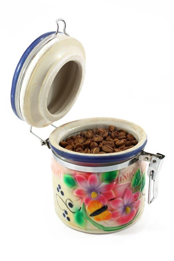 Contenitore di caffè immagine stock libera da diritti