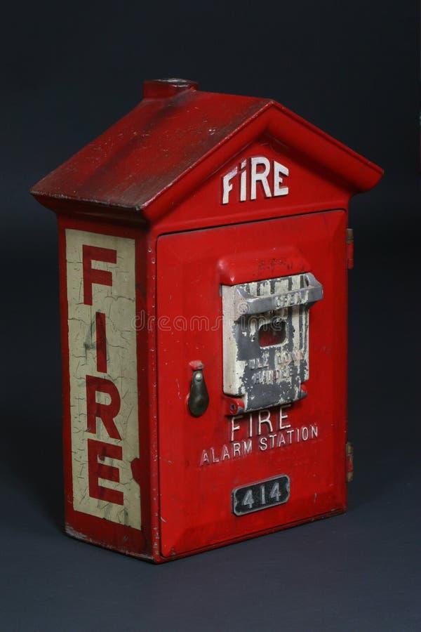 Contenitore di fuoco immagini stock libere da diritti
