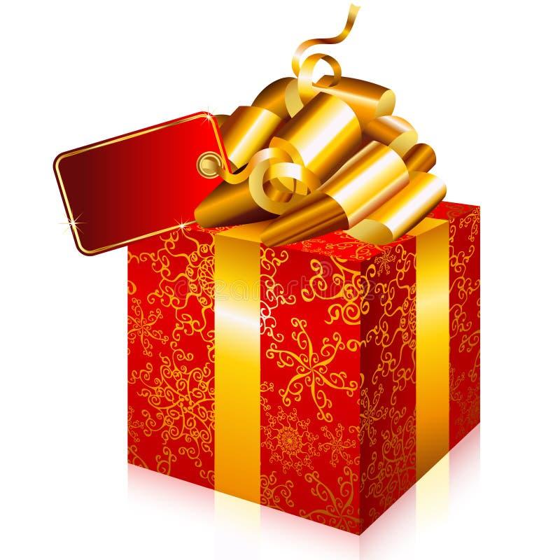Download Contenitore di regalo illustrazione vettoriale. Illustrazione di disegno - 7300819