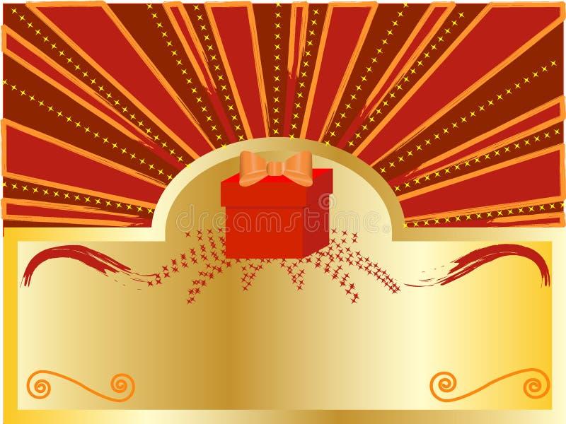 Download Contenitore di regalo illustrazione vettoriale. Illustrazione di arte - 7310828