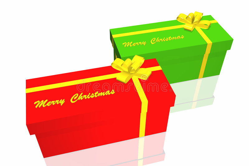 Download Contenitore di regalo illustrazione di stock. Illustrazione di background - 7316539