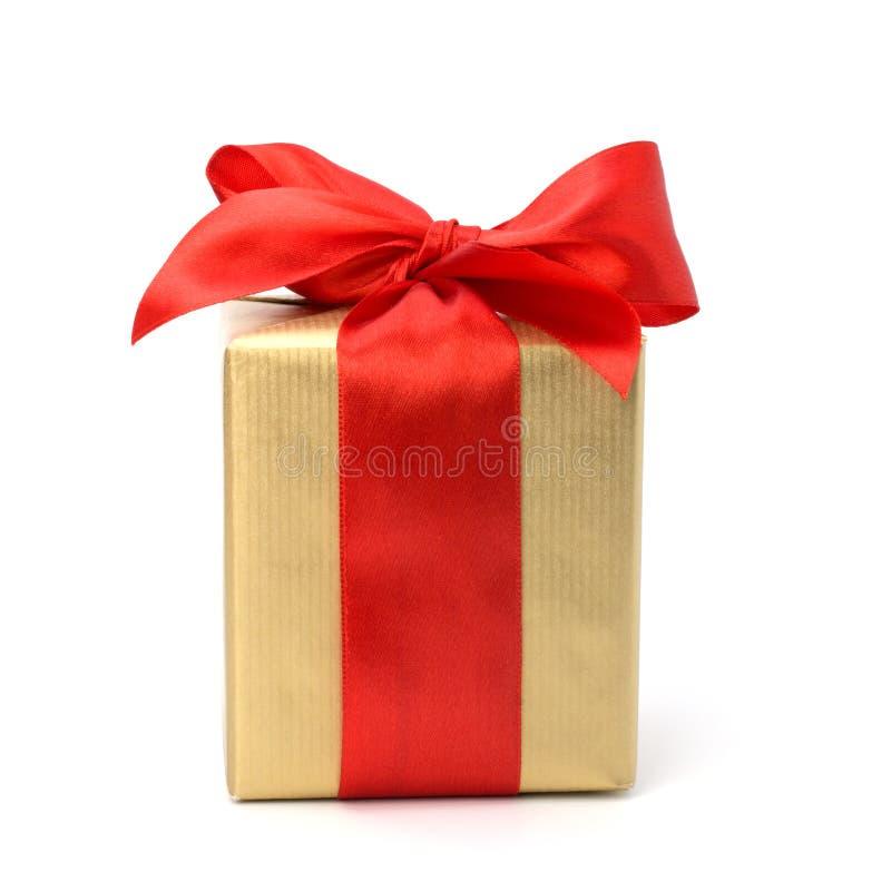 Contenitore di regalo festivo fotografia stock libera da diritti