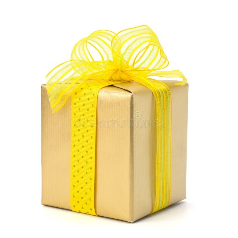 Contenitore di regalo festivo fotografia stock