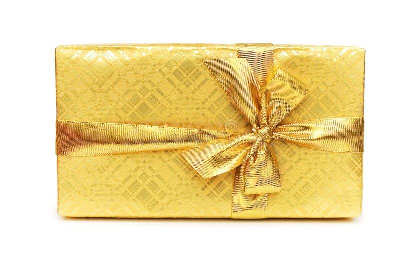 Contenitore di regalo isolato immagine stock