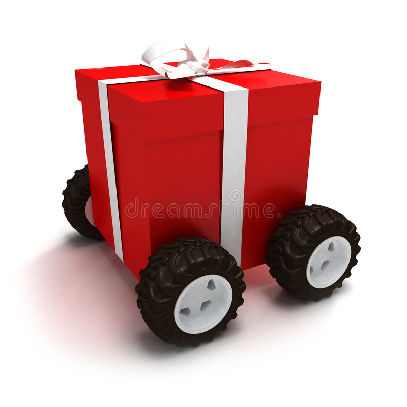 Download Contenitore Di Regalo Motorizzato Fotografia Stock - Immagine di regalo, posta: 3139034