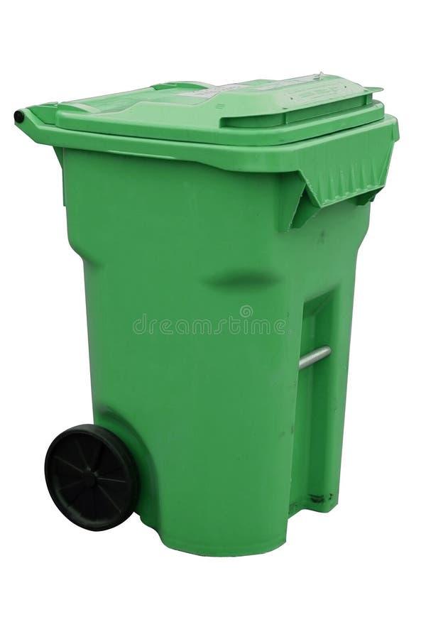 Contenitore di riciclaggio verde immagini stock libere da diritti