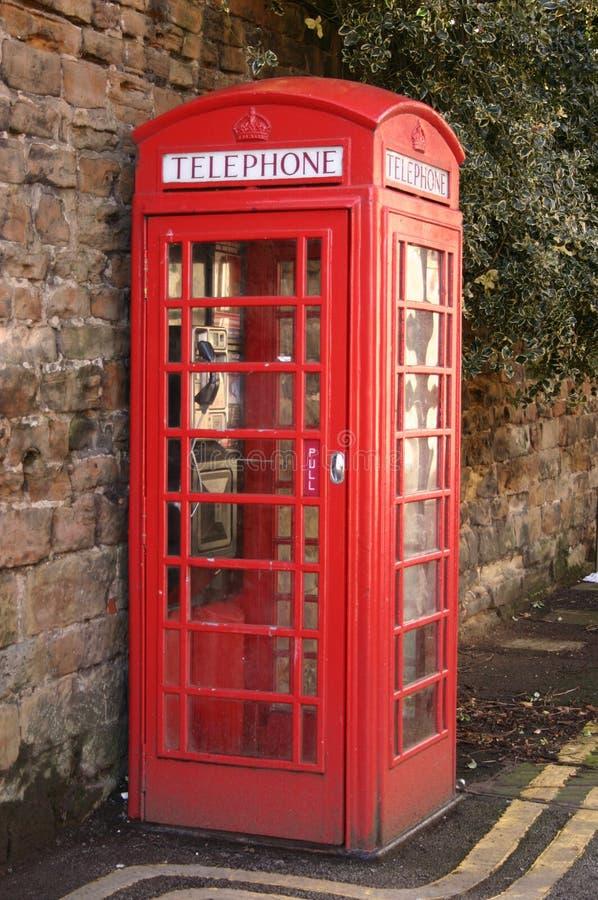 Contenitore di telefono rosso immagini stock libere da diritti
