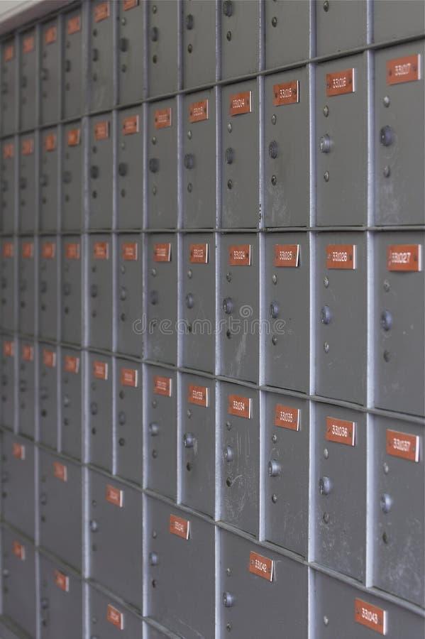 Contenitore grigio 3 di alberino fotografie stock