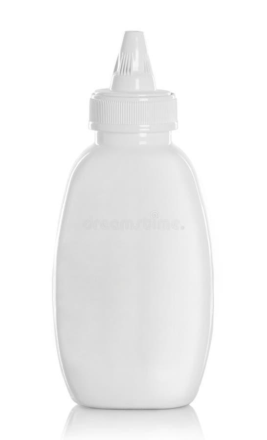 Contenitore liquido del prodotto alimentare fotografie stock