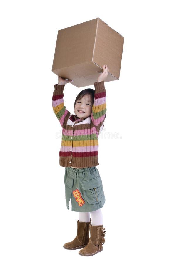 Contenitori di imballaggio fotografia stock