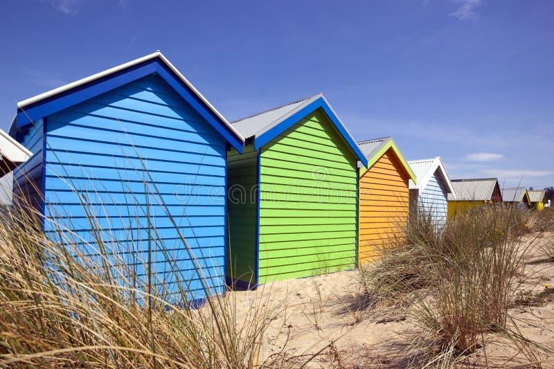 Contenitori di spiaggia immagine stock libera da diritti