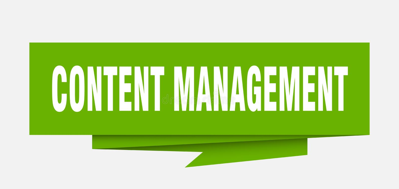 content administration stock illustrationer