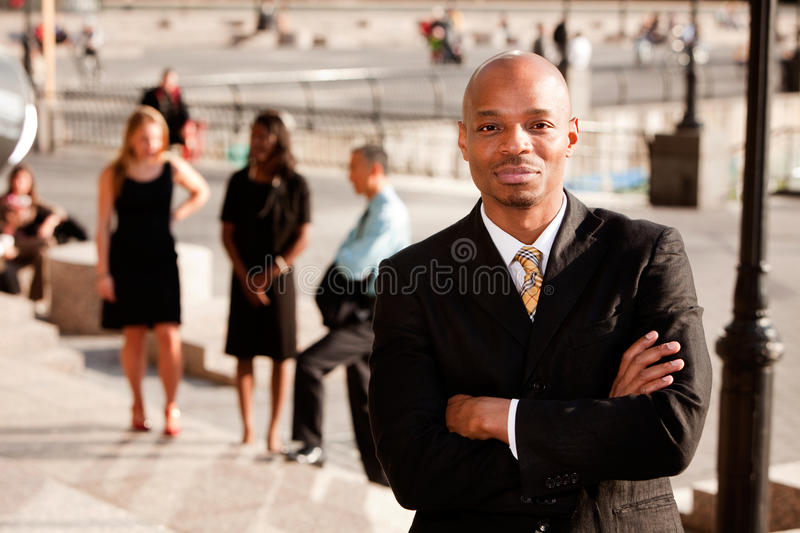 Content Business Man stock image