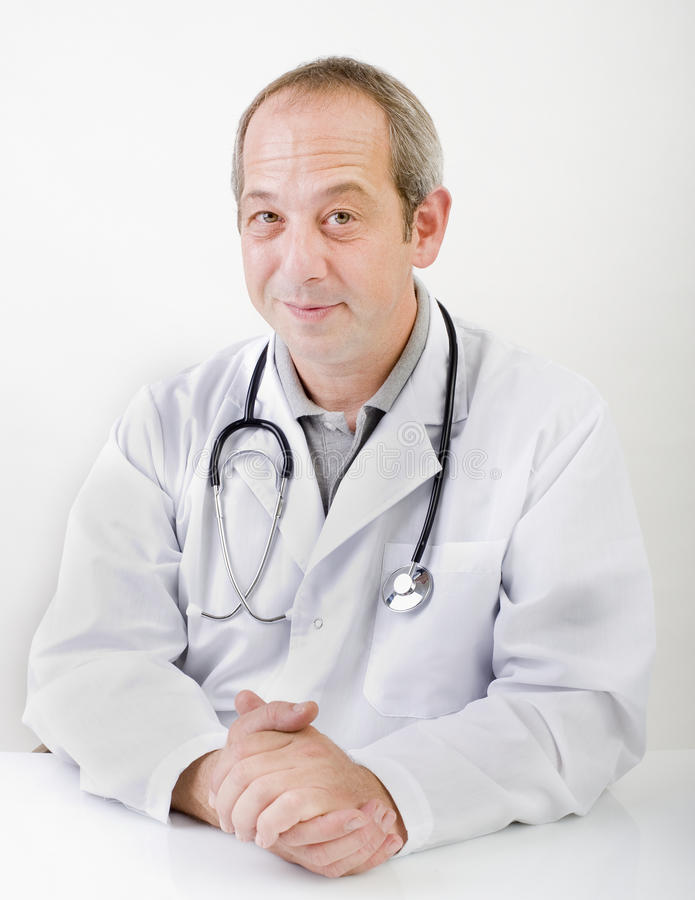 Content Doctor Stock Image