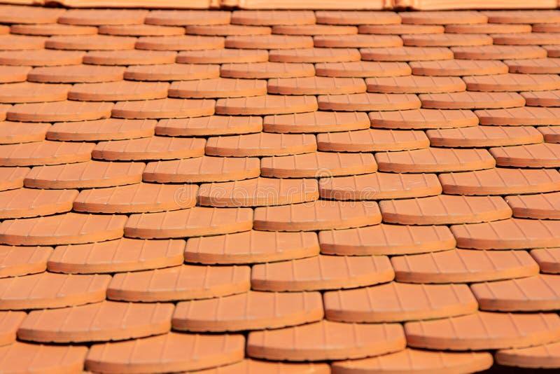 Contes rouges de dessus de toit images libres de droits