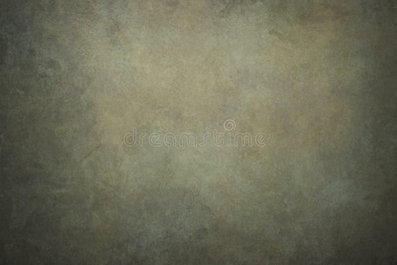 Contesti dipinti a mano dell'annata verde astratta immagine stock
