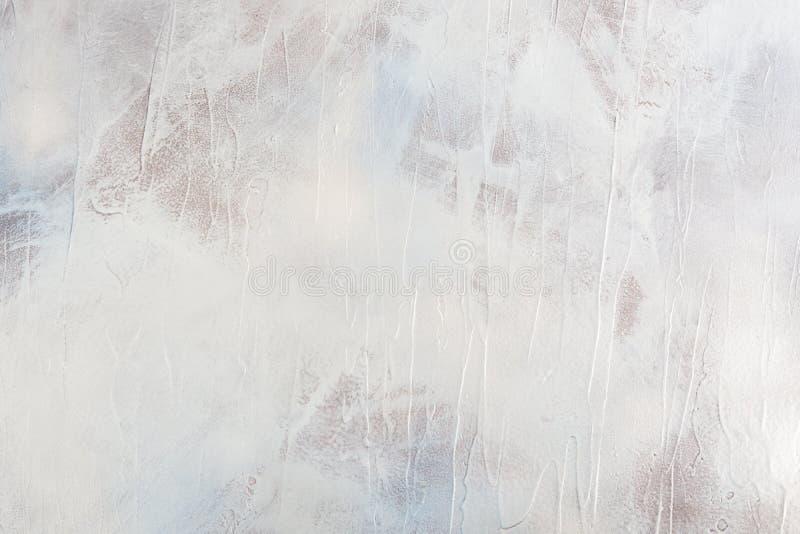 Contesto colorato fatto a mano Grey Blue Abstract Colors del fondo fotografia stock libera da diritti