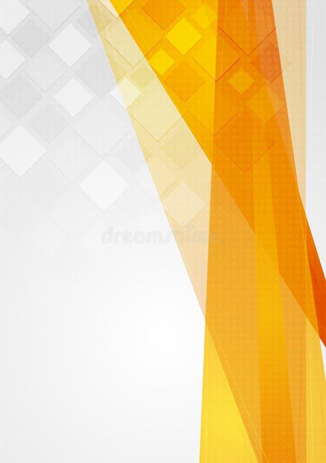 Contesto Colourful di tecnologia royalty illustrazione gratis