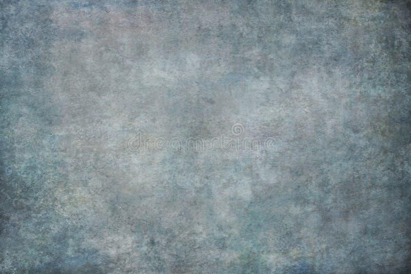 Contesto della mussola o della tela dipinto blu immagine stock libera da diritti