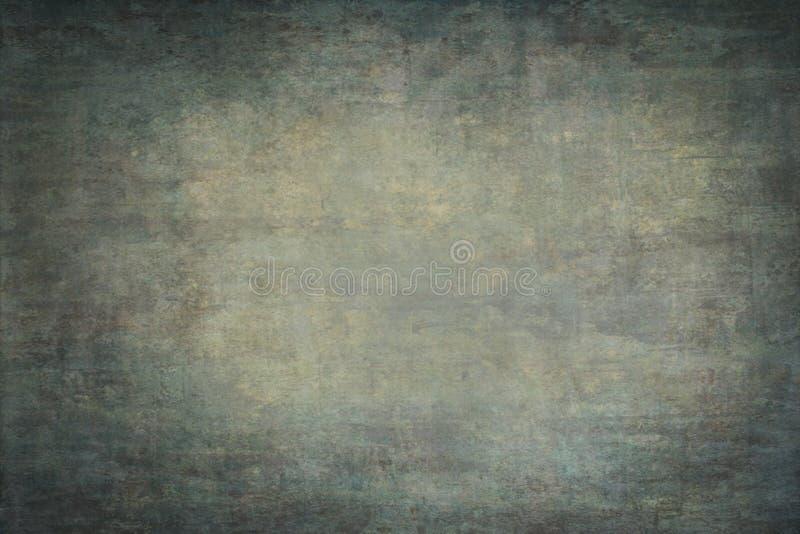 Contesto della mussola o della tela dipinto verde fotografia stock libera da diritti
