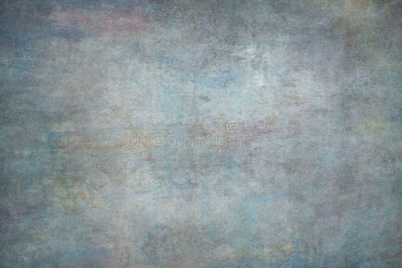Contesto dipinto multicolore dello studio della mussola o della tela fotografie stock