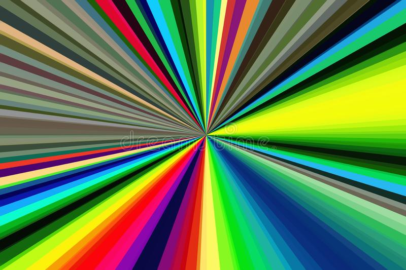 Contexte abstrait hypnotique de conception de fond hypnose illustration de vecteur