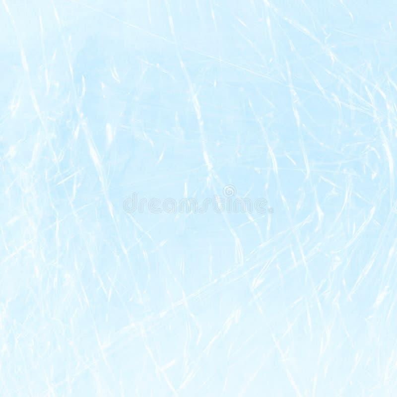 Contexte bleu de polyéthylène Emballage bleu de cellophane photo libre de droits