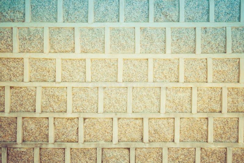 Contexte cor?en de fond de mur de briques de cru image stock