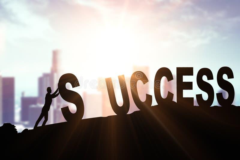 Contexte créatif de succès photos stock