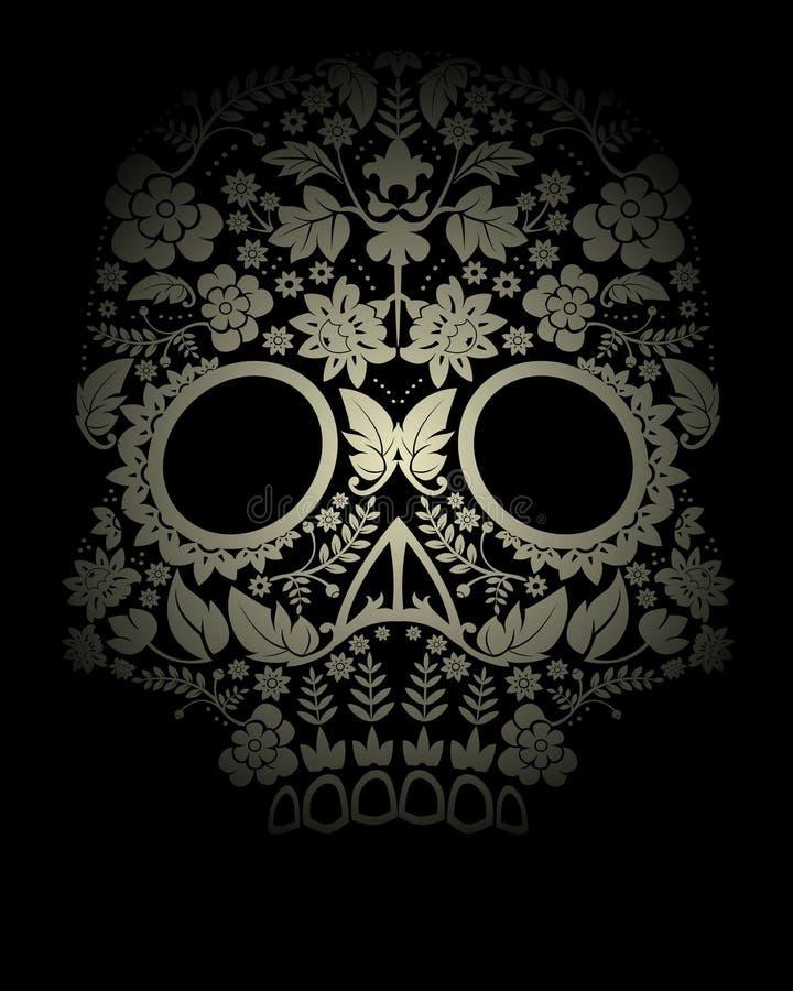 Contexte de crâne images libres de droits