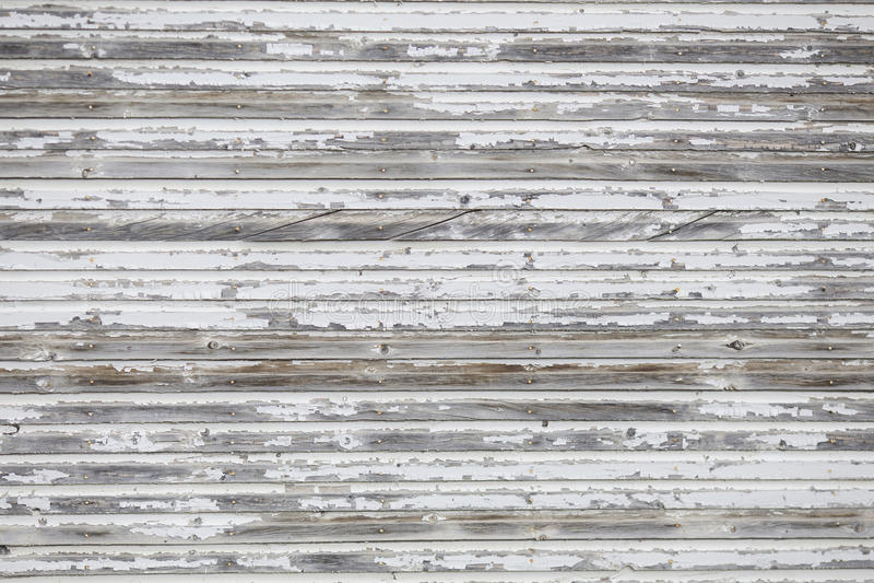Contexte en bois blanc affligé ou Floordrop de mur pour des photographes photographie stock