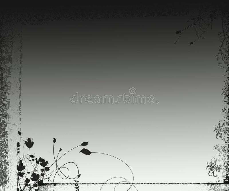 Contexte ornemental de dessin-modèle d'imagination grunge illustration libre de droits