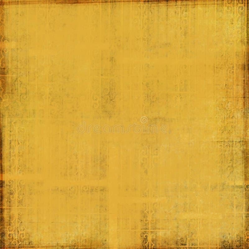 Contexte texturisé d'or illustration libre de droits
