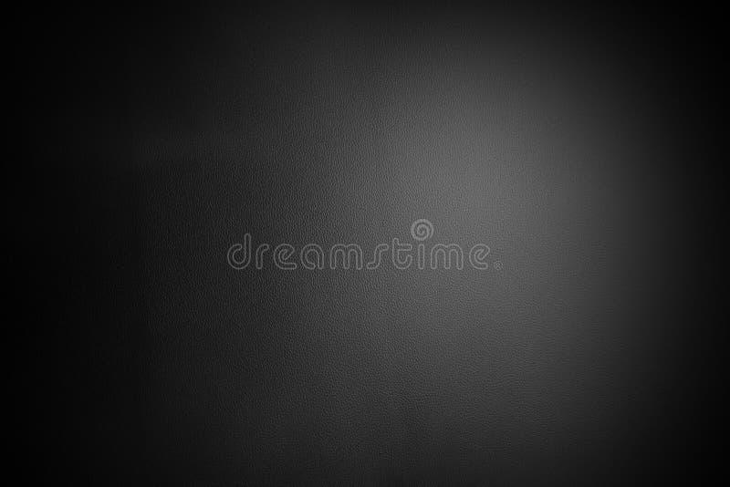 Contexte texturisé de fond de cuir noir photo stock