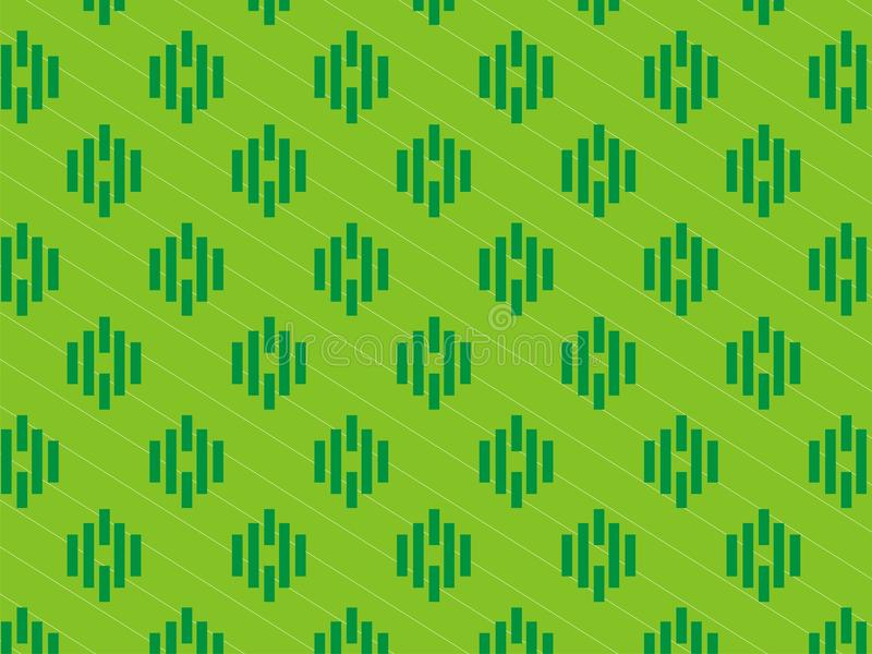 contexto agradável da tira de cor 3 verde imagens de stock royalty free
